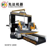 Cnfx-2800 quatro lâminas para corte e máquina de perfil de pedra em mármore/Granito