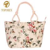 Caixa elegante mala bolsa sacola de lona de mulheres na China