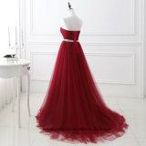 Une ligne robe de bal d'étudiants d'usager de longueur d'étage de robes de soirée