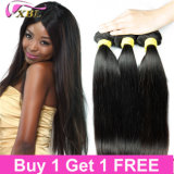 Venda por atacado Brazilian Virgin Hair Extensions Top Cosméticos Remy Human Hair