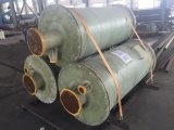 Bobinado controlada por ordenador de PRFV tanques de agua