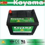 75D26L-MF NS70L-MF 12V 65ah bateria de carro para automóveis japoneses
