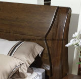 固体木のベッドの現代ダブル・ベッド(M-X2336)