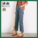 Kundenspezifische Baumwollgewebe-Denim-Jeans für Frauen