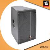 15 Zoll-passiver lauter Volllautsprecher Ws-15