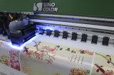 Roulis UV d'imprimante de Sinocolor Ruv3204 3.2m Ricoh pour rouler l'imprimante de grand format de drapeau d'imprimante