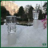 Recipiente de vidrio Zob el hábito de fumar con 14mm 14.4mm conjunta de hombres y 18,8 mm 18mm.