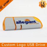 Ручка USB выдвиженческого логоса подарка изготовленный на заказ пластичная внезапная (YT-1102)