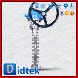 Тип клапан-бабочка волочения Didtek Dn350 Ub6