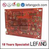 Плата с печатным монтажом PCB для электроники связи