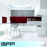 赤くおよび白いカラー現代台所食器棚Blk35