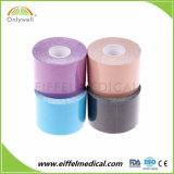 2018 coton coloré de sports de la kinésiologie bande pour le cerclage de genou