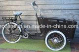 8fun中間エンジンの電気輸送のバイクまたは貨物E自転車かグループの貨物Tricycle/3車輪の貨物自転車または貨物Bakfietsen/7sp 13ah三輪車Bakfiets 7nsp