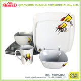 Dinnerware меламина поставкы фабрики 24PCS Китая
