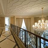 錬鉄の別荘の装飾のためのまっすぐな手すり階段ステアケース