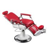 유일한 까만 이발소용 의자 유압 기능 남자 이발소용 의자
