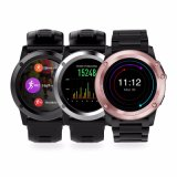 De slimme Telefoon Mtk6572 van het Horloge het Androïde OS 3G WiFi GPS Tarief van het Hart