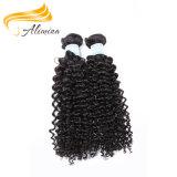 インドの人間の毛髪の卸売の安いバージンの毛の織り方