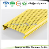 Comitato di soffitto di alluminio perforato della striscia di vendita diretta della fabbrica con ISO9001