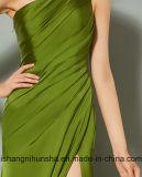 1肩の分割前部結婚披露宴の形式的なイブニング・ドレス