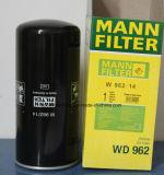 Filtro de petróleo de Wd962/14 Mann para las piezas del compresor de aire