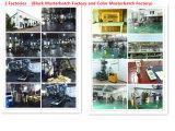 Beste schwarze Farbe Masterbatch für Markt-Durchlauf alle Bescheinigung
