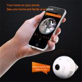 Wip014 소형 Fisheye 전구 파노라마 사진기 360 도 주택 안전 빛 사진기 WiFi IP