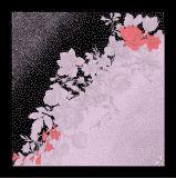Abstrakter Desgns Silk quadratischer Schal