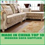 Os sofás secionais luxuosos da tela de Chesterfiled da alfândega dirigem a mobília