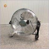 400mm Fußboden-Ventilator mit Chrom-Gitter-und Aluminium-Schaufeln