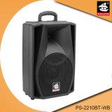 10 Zoll PA-Lautsprecher mit drahtlosem FernsteuerungsPS-2210bt-Wb