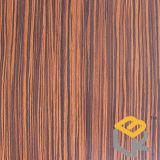 Бумага деревянного зерна зебры декоративная для мебели или пол от китайского изготовления