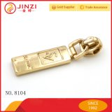Jinzi Handbag Hardware Accessory Engraving Logo To zip Slider Customize To zip Puller