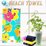 反応簡単なパターンによって印刷されるビーチタオル