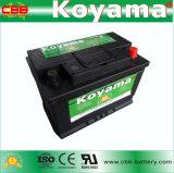 bateria de armazenamento européia do carro de 56638-Mf DIN66 12V 66ah