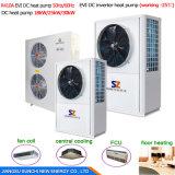 système de chauffage de pompe à chaleur de l'eau d'air de 12kw 19kw 35kw 70kw