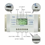 regulador de la energía solar de 12V/24V 40A con el control T40 de Light+Timer