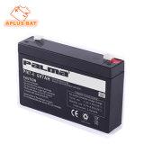 UPS rechargeable au plomb-acide de batterie solaire à cycle profond de l'alimentation 6V7AH