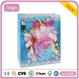 Подарка искусствоа способа картины Rose мешок голубого Coated бумажный
