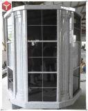 72 нишевых серый гранит черного гранита Columbarium стены на кладбище