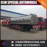 6*2 우유 유조 트럭 16cbm 판매를 위한 신선한 우유 유조 트럭