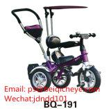 Paraguas triciclo Baby Carrier Carrier bebé de 3 ruedas para la venta de bicicletas