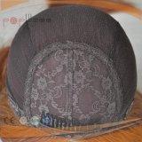 Menschenhaar-Silk oberste jüdische Perücke (PPG-l-0278)