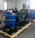 Haute capacité de la pompe à eau centrifuge avec moteur Diesel 2-12 pouce