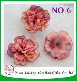 Testa di fiore di seta del fiore artificiale materiale della Rosa del Ministero degli Interni