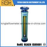 Rotámetro químico anticorrosivo ácido del vidrio del flujómetro de la alta precisión de Lzb