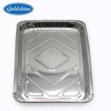 Het meeneem Dienblad van het Voedsel van de Aluminiumfolie van de Microgolf