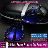 2905 Les hommes de la mode des lunettes de soleil polarisées crapaud