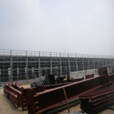 記憶の商品のための鉄骨構造の倉庫