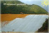 폴리에스테 지속적인 필라멘트 Spunbonded 비 길쌈된 Geotextile